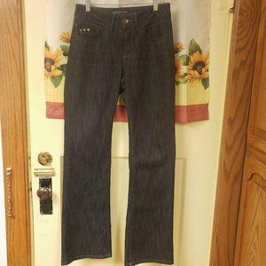 Rider By Lee Premium Black Light Washed Jeans 8M